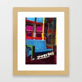 La Villette 3 Framed Art Print