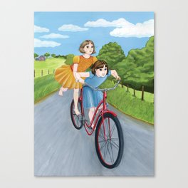 How Wilma and I Got Around Canvas Print