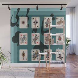 Persian Playing Cards Wall Mural