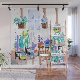 My Little Garden - illustration 2 Wall Mural