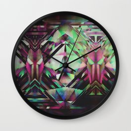 Ace Of Bottles Wall Clock