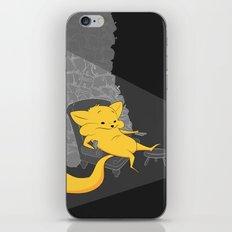 yellow chippy iPhone Skin