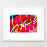 ramen Framed Art Prints featuring Ramen by Arson Capital