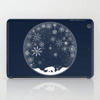 globe iPad Cases featuring Snow Globe by Tobe Fonseca