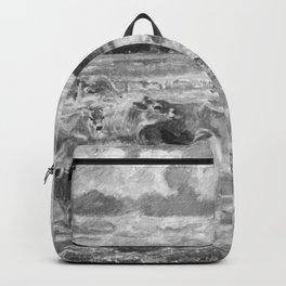 Peter Hansen - Jersey cows Backpack