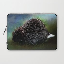 Porcupine Blackberry Brambles  Laptop Sleeve