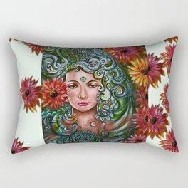 Chakra Sadhna Rectangular Pillow
