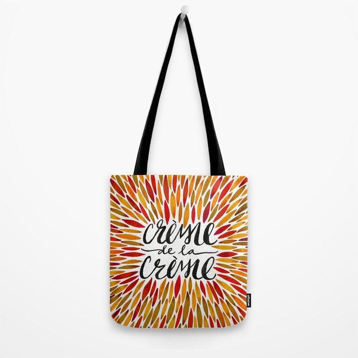 Crème de la Crème – Autumn Palette Tote Bag