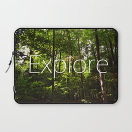 Forest // Silent In The Trees // Explore Laptop Sleeve