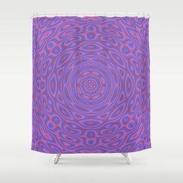 Funky Kaleidoscope Shower Curtain