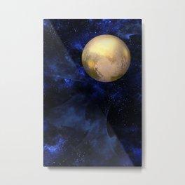 Hello Pluto! Metal Print