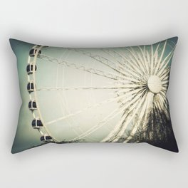 The Wheel Goes Round and Round Rectangular Pillow