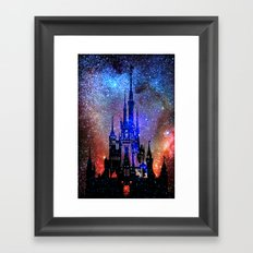 Fantasy Disney. Nebulae Framed Art Print