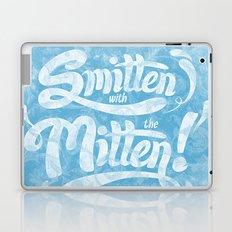 Smitten with the Mitten (Blue Version) Laptop & iPad Skin