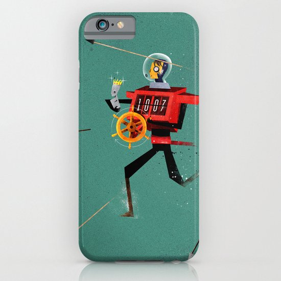 The Time Travelling Pirate iPhone & iPod Case