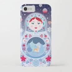 Our Lady of Winter iPhone 7 Slim Case