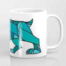 Bobcat Prowling Mosaic Coffee Mug