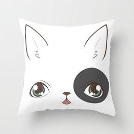 Derpy Dog Throw Pillow