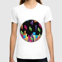 tetris T-shirts featuring Tetris Troubles. by Digi Treats 2