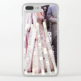 0116 Clear iPhone Case