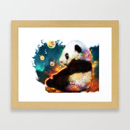 pandas dream Framed Art Print
