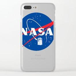 NASA TAR DIS Clear iPhone Case