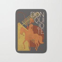 Books Collection: Don Quixote Bath Mat