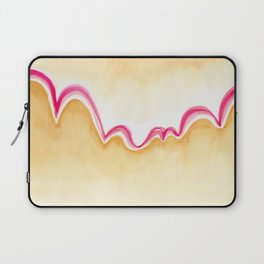 Abstract bouncy mountains Laptop Sleeve
