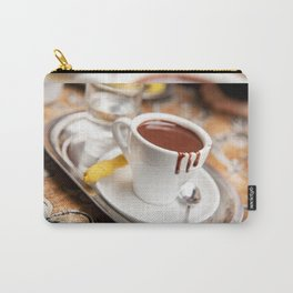 hot milk chocolate and ginger cookie Carry-All Pouch