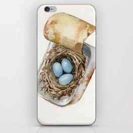 Tin Can Nest  iPhone Skin