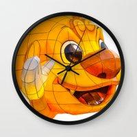 korean Wall Clocks featuring Korean Lantern  by Benedict Middleton