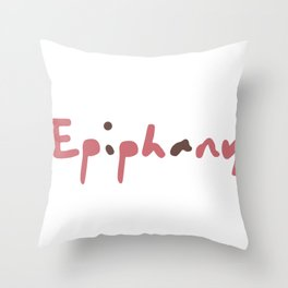Epiphany From BTS Jin Throw Pillow