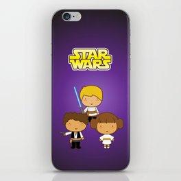 Star Wars Trio iPhone Skin
