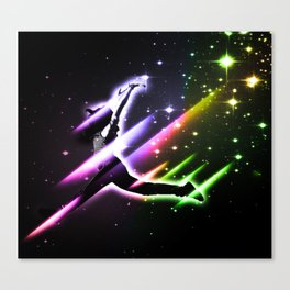 Space Girl Canvas Print