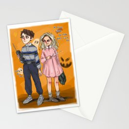 l&h as mike and 011 Stationery Cards