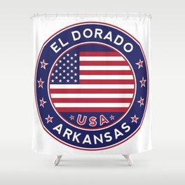 El Dorado, Arkansas Shower Curtain