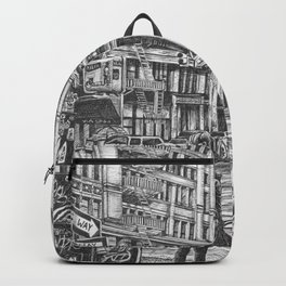 New York Taxis Backpack