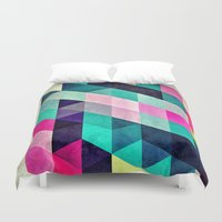 spires Duvet Covers featuring Cyrvynne xyx by Spires