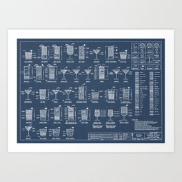 COCKTAIL poster Art Print