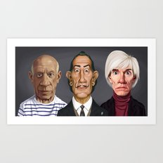Great Artists Art Print