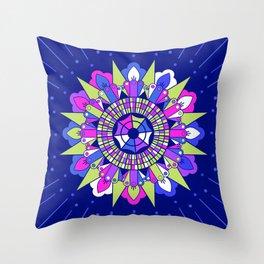 Mandala IV Throw Pillow