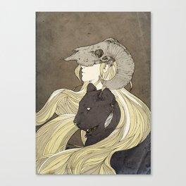 Dreamcatcher- looking ahead Canvas Print