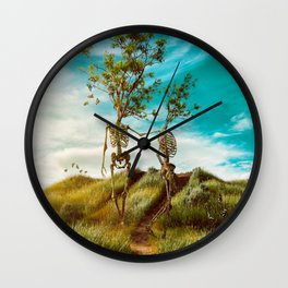 We are in this together Wall Clock