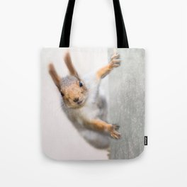 Squirrel - Who are you? Tote Bag
