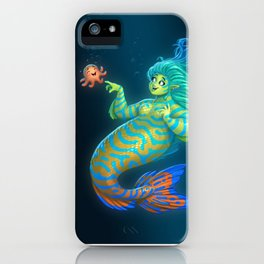 Mandarin Mermaid iPhone Case
