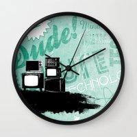 revolution Wall Clocks featuring Revolution by ColbyGreen