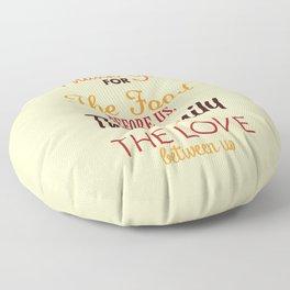 Thanksgiving Grace | Fall Colors Floor Pillow