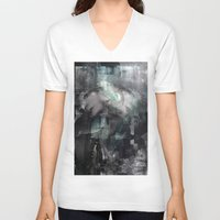 scream V-neck T-shirts featuring Scream by Lil'h