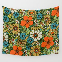70s Plate Wall Tapestry