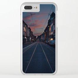 Dublin Upside Down Clear iPhone Case